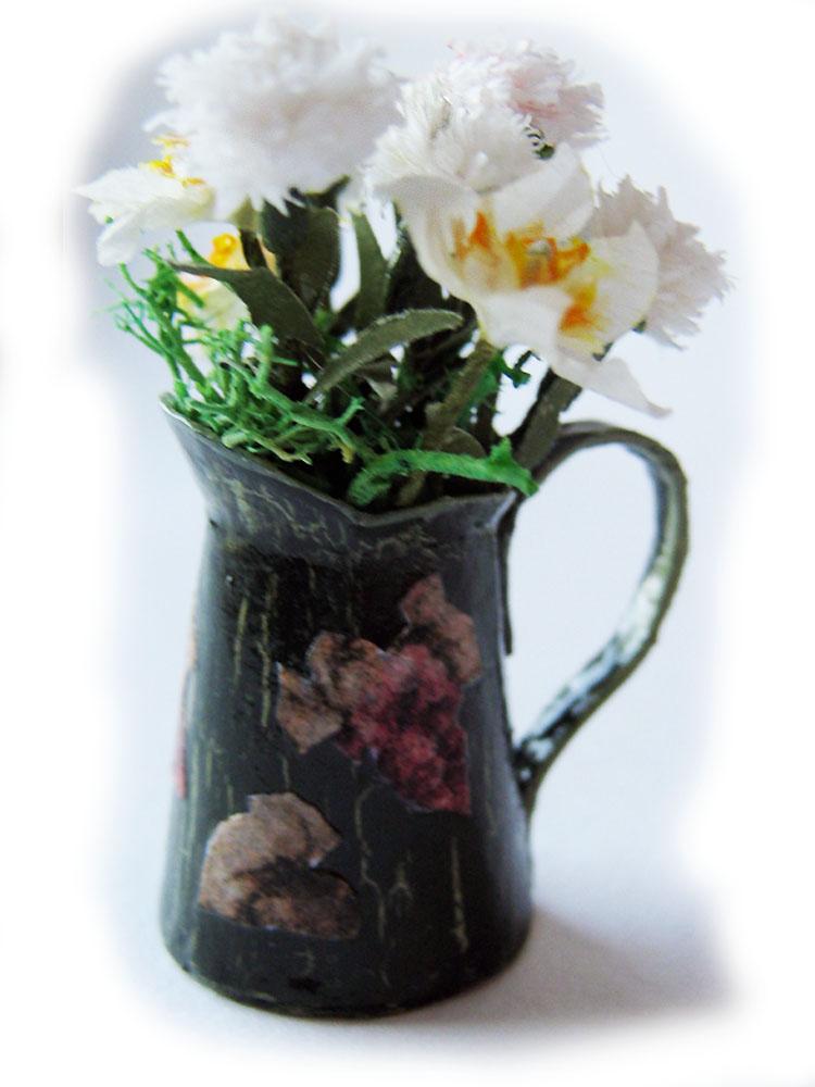 jarra flores