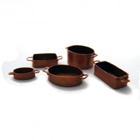 Kit formas de cobre