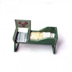 Berço e cadeira de balanço