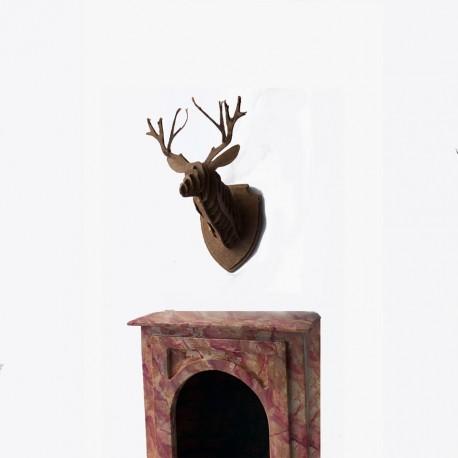 Troféu cabeça de Cervo