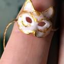 Máscara Veneziana de gato