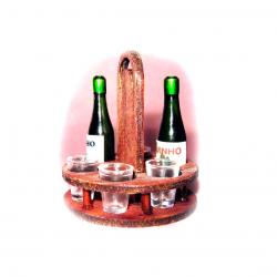 Porta copos e garrafas