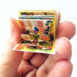 Mini livro pop-up