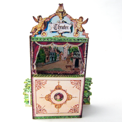Teatro Guignol em miniatura