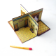 Miniatura de casa de bonecas dobrável
